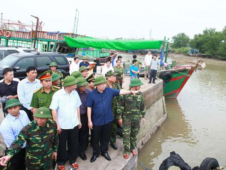 Bao so 7 do bo Quang Ninh - Hai Phong - Anh 1