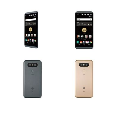 LG V34: phien ban khong tham nuoc cua LG V20 - Anh 1