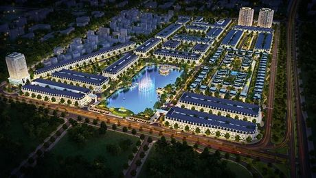 Du an New City Thai Binh: GPMB chua xong, dat da rao ban - Anh 1