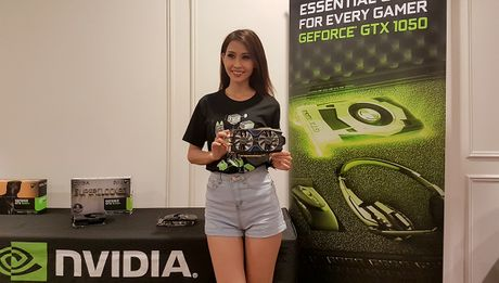 Nvidia gioi thieu card GeForce GTX 1050 va 1050Ti - Anh 1