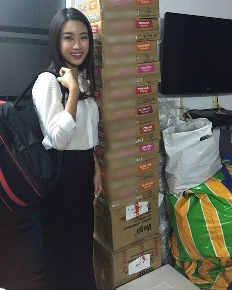 Hoa hau Do My Linh day dut vi chua co mat o mien Trung - Anh 2