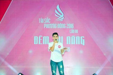 Dan trai xinh gai dep quy tu trong dem Tai nang 'Tai sac Phuong Dong lan VII nam 2016' - Anh 6