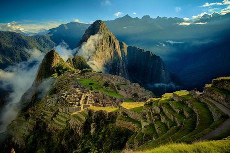 Machu Picchu - Thanh pho mat tich cua nguoi Inca - Anh 1