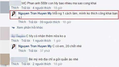 My Linh, Huyen My noi gi khi bi hoi ve so tien ung ho mien Trung? - Anh 5