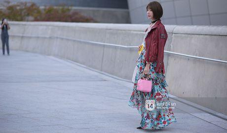Doc quyen: Street style chat lu tai Tuan le thoi trang Seoul - Ngay 2 - Anh 21
