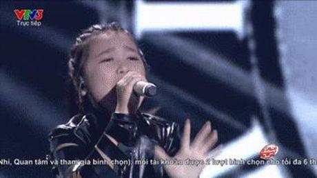 Nhung khoanh khac tu tin dang yeu cua cac be The Voice Kids trong dem liveshow 5 - Anh 3