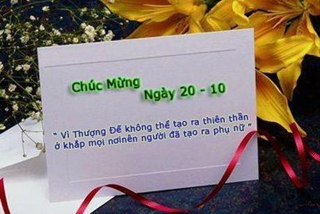 Nhung loi chuc 20/10 doc dao duoc dan mang chia se - Anh 2