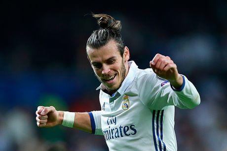 Mat gan 2 nam, Bale moi ghi ban cho Real o cup chau Au - Anh 1
