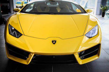 Anh Lamborghini Huracan cau sau thu 2 vua ve Viet Nam - Anh 1