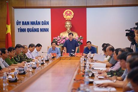 Pho Thu tuong kiem tra chong bao o Quang Ninh - Anh 1