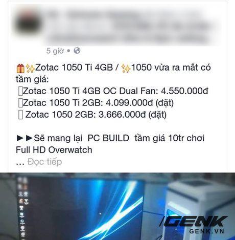 Da co gia ban cua GTX 1050Ti 4GB o Viet Nam, re hon nhieu so voi GTX 960 - Anh 2
