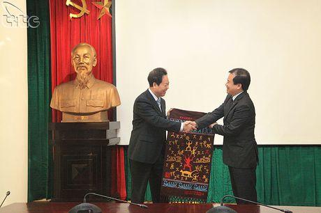 Tong cuc Du lich lam viec voi doan TP. Sung Ta, Quang Tay (Trung Quoc) - Anh 3