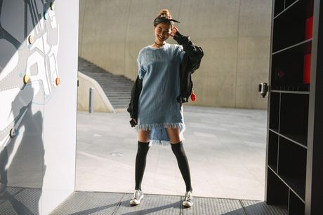 Di Seoul Fashion Week, hoc street style the gioi - Anh 1