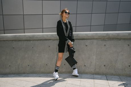 Di Seoul Fashion Week, hoc street style the gioi - Anh 3