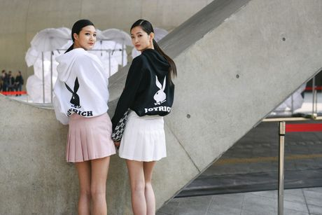 Di Seoul Fashion Week, hoc street style the gioi - Anh 4