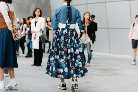 Di Seoul Fashion Week, hoc street style the gioi - Anh 8