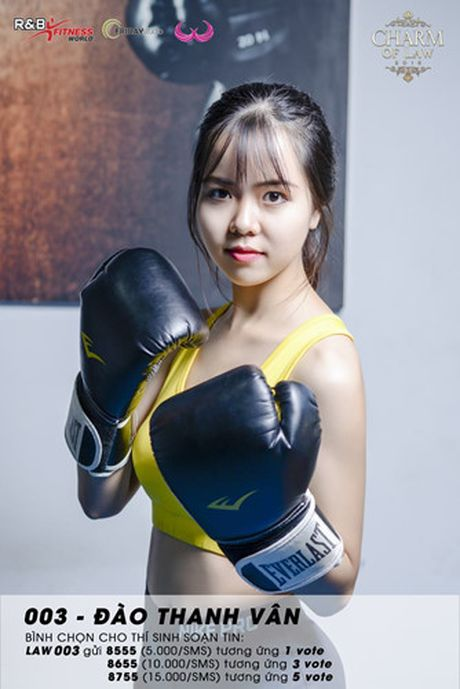 Top 20 nu sinh truong Luat nong bong trong trang phuc gym - Anh 12