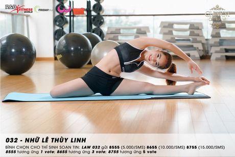 Top 20 nu sinh truong Luat nong bong trong trang phuc gym - Anh 3