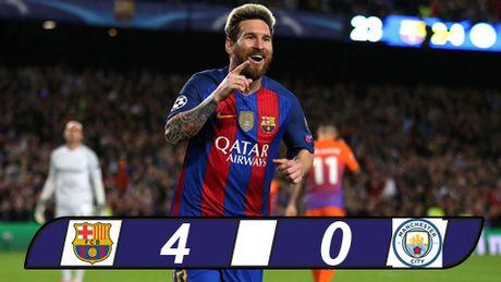 Messi lap hat-trick, Barca nhan chim Man City tai Nou Camp - Anh 1