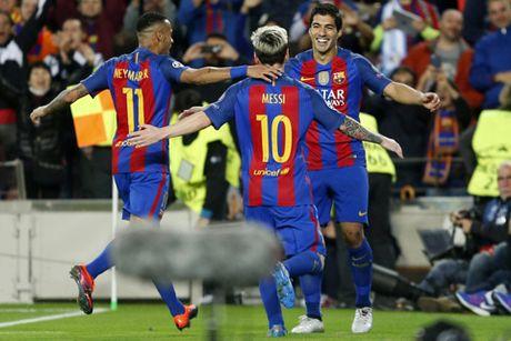 Messi lap hat-trick, Barca nhan chim Man City tai Nou Camp - Anh 2