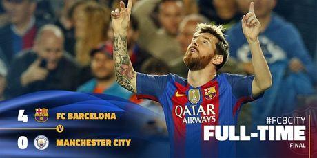Messi lap hat-trick giup Barcelona huy diet Man City tai Nou Camp - Anh 2