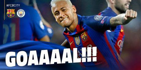 Messi lap hat-trick giup Barcelona huy diet Man City tai Nou Camp - Anh 3