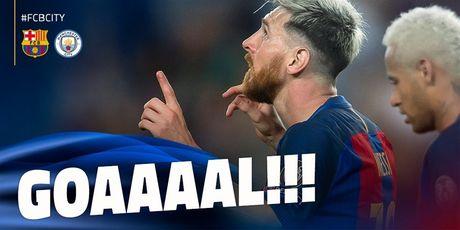 Messi lap hat-trick giup Barcelona huy diet Man City tai Nou Camp - Anh 5