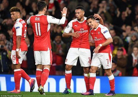 Du am Arsenal 6-0 Ludogorets: Bo tu sieu dang - Anh 1