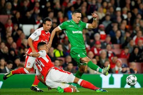 Nhung diem nhan sau tran Arsenal 6-0 Ludogorets - Anh 2