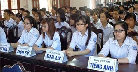 Lịch thi học sinh giỏi quốc gia THPT năm 20017