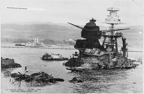 Thiết giáp hạm Arizona: Biểu tượng bất tử của Hải quân Mỹ