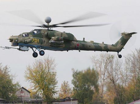 Trực thăng Mi-28NM nâng cấp của Nga sẽ có tên lửa tầm xa mới