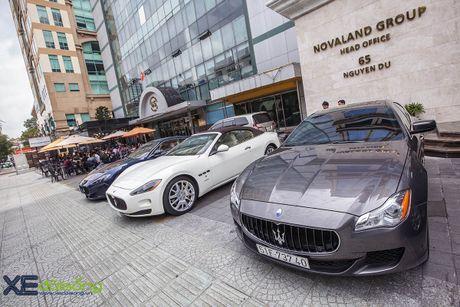 Dàn xe quý tộc Maserati giao lưu cuối tuần tại Saigon Coffee Club