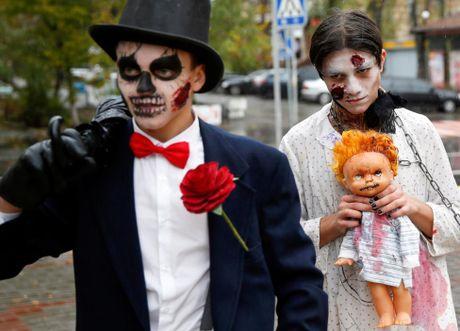 Chum anh le hoi Halloween day ma mi tren khap the gioi - Anh 8