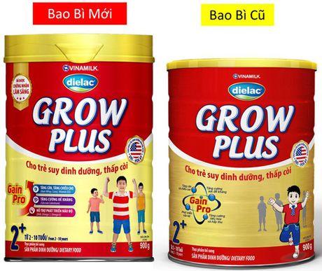 Vinamilk Dielac Grow Plus moi cho tre suy dinh duong thap coi, bieng an - Anh 2