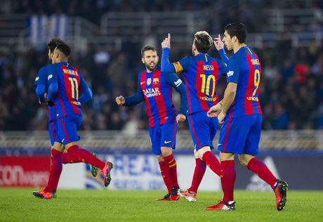Barcelona áp đảo Real Madrid trong đội hình tiêu biểu nửa đầu mùa giải
