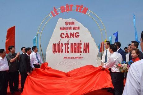 Nghe An: Chu tich nuoc nhat nut van hanh Nha may Xi mang Song Lam - Anh 2