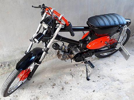 Honda Cub do 'sieu chat' chi 7 trieu dong o Binh Dinh - Anh 1