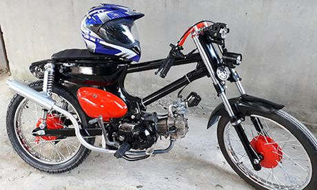 Honda Cub do 'sieu chat' chi 7 trieu dong o Binh Dinh - Anh 3