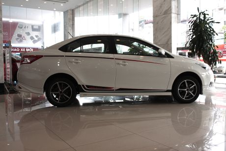 Can canh Toyota Vios TRD phong cach the thao - Anh 6