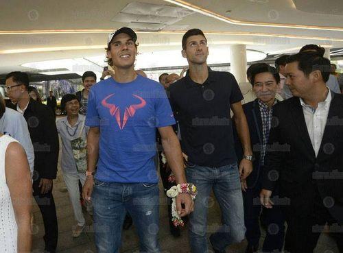 Số tiền kếch xù Nadal, Djokovic có từ trận đấu biểu diễn