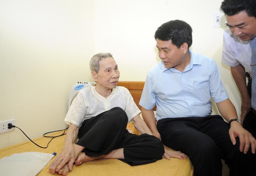 Chủ tịch TP.Hà Nội Nguyễn Đức Chung: 'Sẽ luôn chăm lo cuộc sống cho người có công'