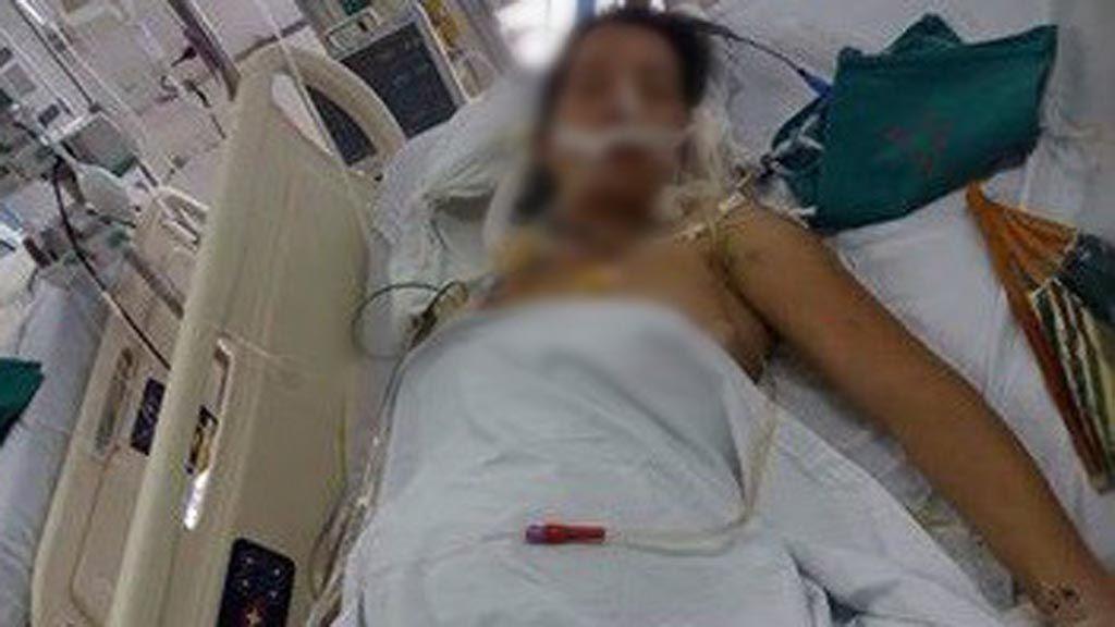 Thai phụ bị xe công nông chèn ngang người, cứu sống con 32 tuần tuổi trong bụng