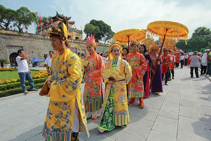 1000 người tham gia lễ rước Tổ nghề truyền thống